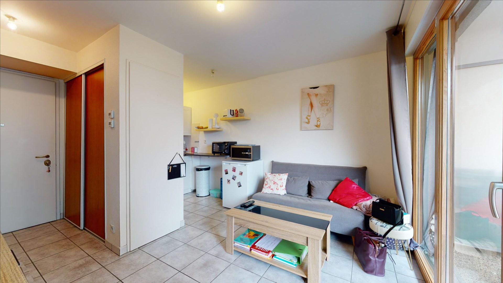 appartement 25.85m² BESANCON - photo 3